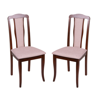 Set 2 scaune  San Marino, Lemn, Nut/Regent plain 030