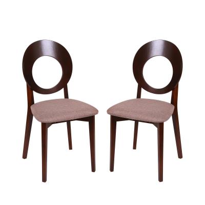 Set 2 scaune Star, Lemn, Nut/Veles 6 [0]