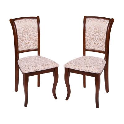Set 2 scaune UNO, Lemn, Nut/Regent 02 [0]