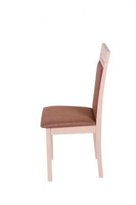 Set 2 scaune Wooden 2, Lemn, Beige/Veles 153