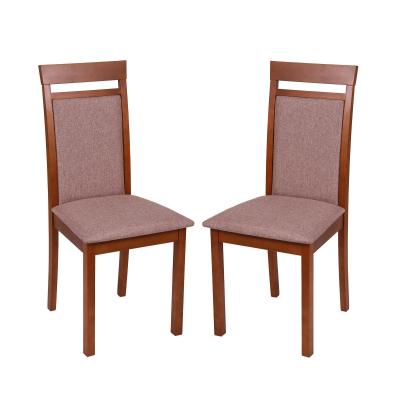 Set 2 scaune Wooden 2, Lemn, Walnut/Veles 60