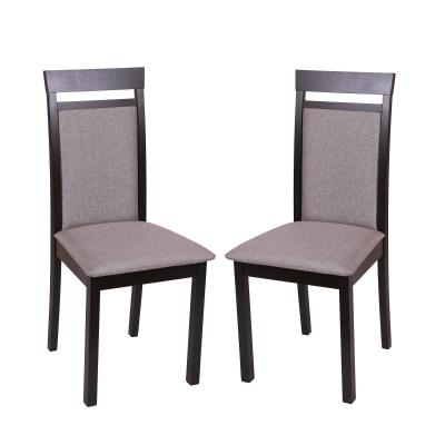 Set 2 scaune Wooden 2, Lemn, Wenge/Veles 140