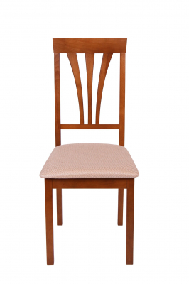 Set 2 scaune Wooden 7, Lemn, Walnut/Brighton Beige [2]