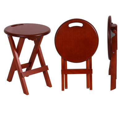 Set 2 taburete Clever, Lemn, Apple Tree Dark1