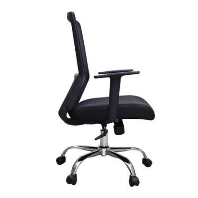 Scaun de birou ergonomic EASY, mesh, negru [2]