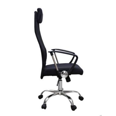 Scaun de birou ergonomic HERTZ, mesh/textil, negru2