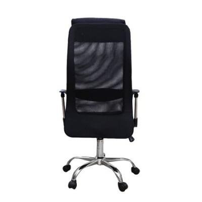 Scaun de birou ergonomic HERTZ, mesh/textil, negru3