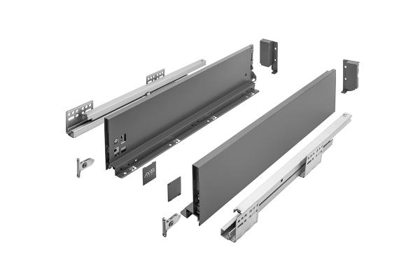 Sertar AxisPro 450 mm, High, Antracit, H167 mm, C 0