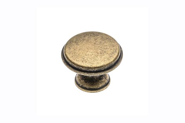 Buton mobila Cento D28 mm, alama antichizata [0]