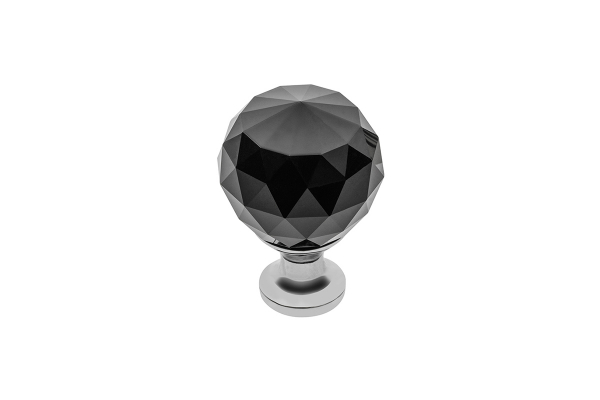 Buton Crystal Palace D 40 mm Black 0