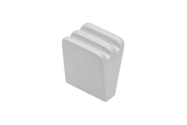 Buton mobila GANZA, alb mat [0]