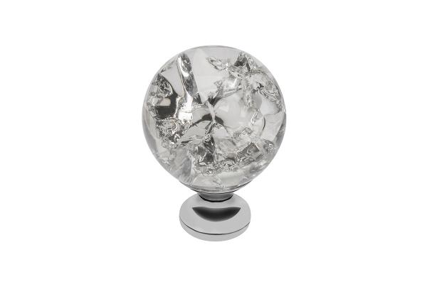 Buton mobila White Crystal 30x43 mm 0