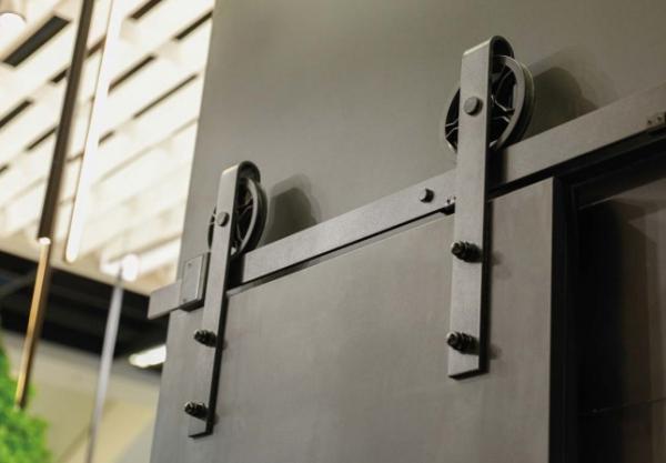 Sistem de culisare pentru usi de interior LOFT, negru mat 2