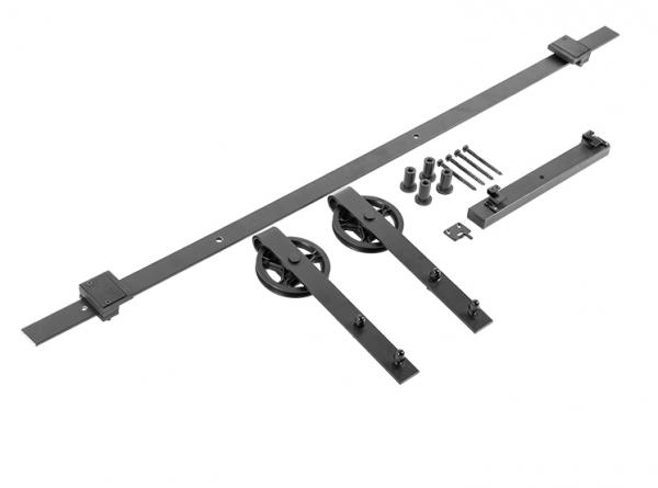 Sistem de culisare pentru usi de interior LOFT, negru mat 0