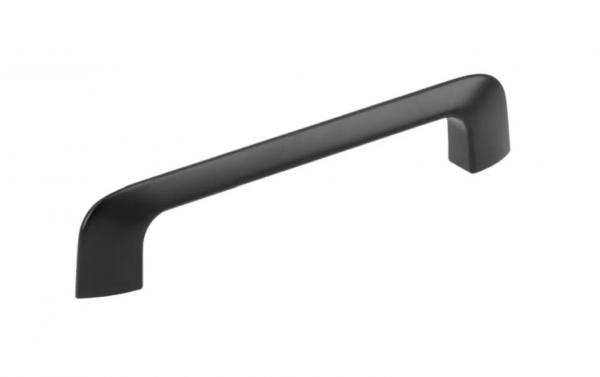 Maner mobila MILAN 128 mm, negru mat [0]