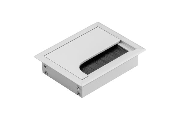 Trecere cabluri MERIDA 80x80 mm, Aluminiu 0