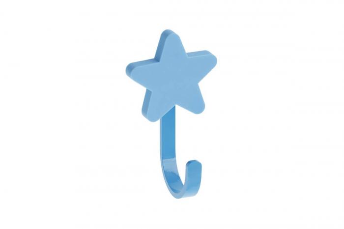 Agatatoare cuier copii STAR 50x85 mm, albastru [0]
