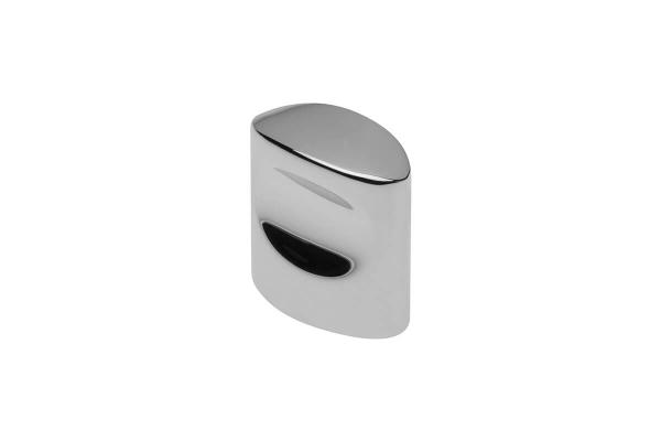 Buton mobila Cleo, cromat, 20x18.5 mm 0