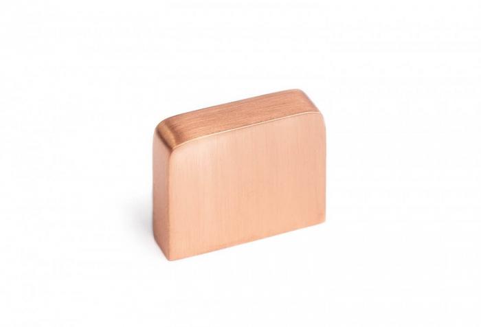 Buton mobila K705 30x25 mm, cupru [0]