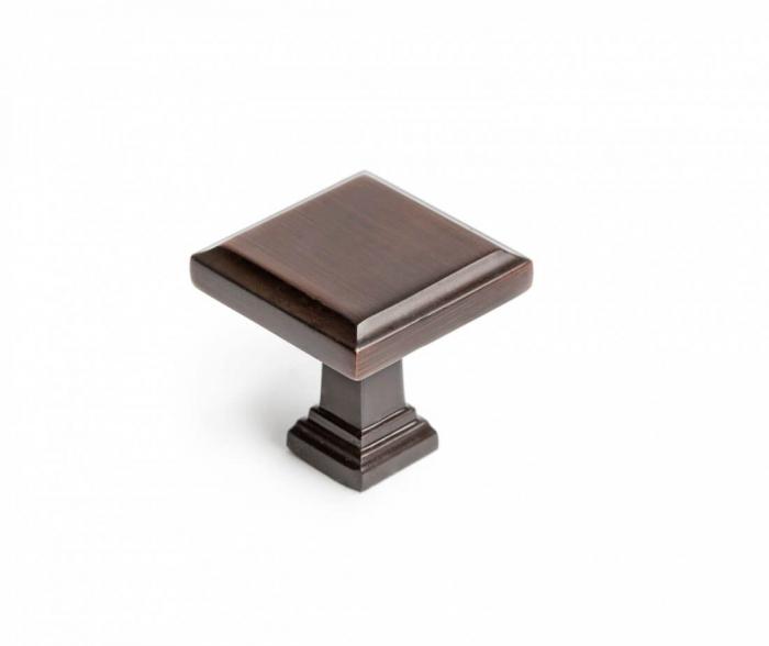 Buton mobila KR60 32x32 mm, cupru antichizat [0]