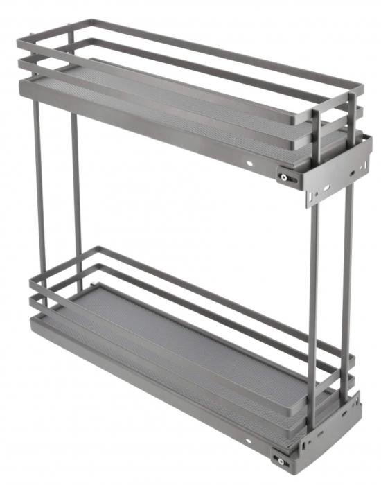 Cos Jolly MOVIXPRO antracit pentru corp mobilier de 200 mm, glisiera laterala cu amortizare [0]