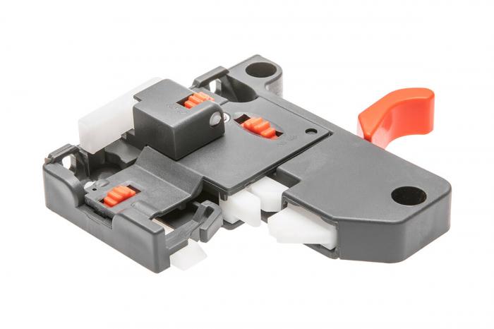 Glisiera 500 mm, extragere totala, soft close, reglaj 3D, pal 18 mm, 30 kg [1]