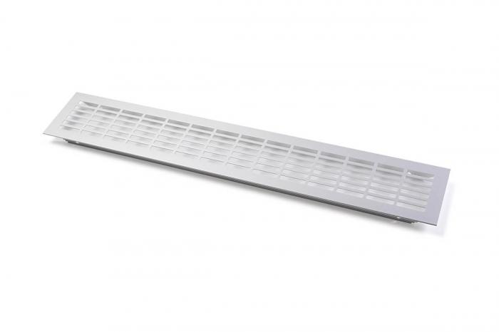 Grila ventilatie aluminiu, 480x80 mm 0