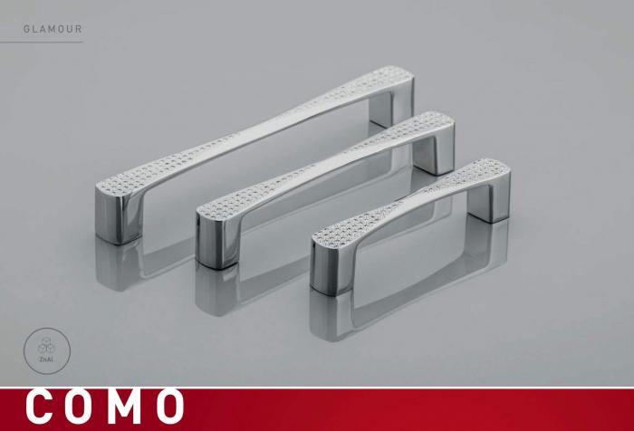 Maner mobila COMO 128 mm, cromat [2]
