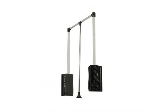 Lift haine reglabil 875-1200 mm, negru [0]