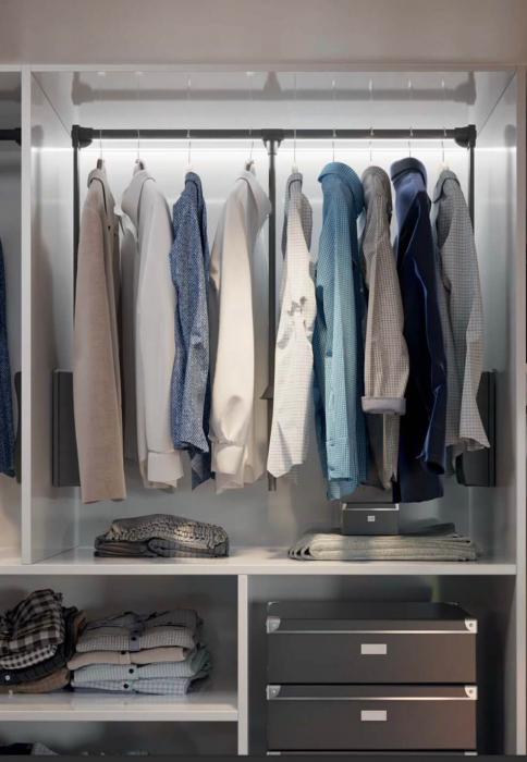 Lift haine reglabil 875-1200 mm, negru [1]