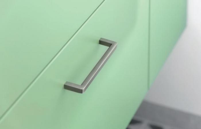 Maner mobila BAGIO 128 mm, titan [1]