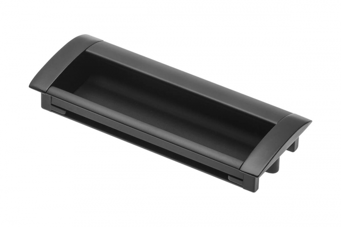 Maner mobila ingropat UA-326 96 mm, negru mat 0