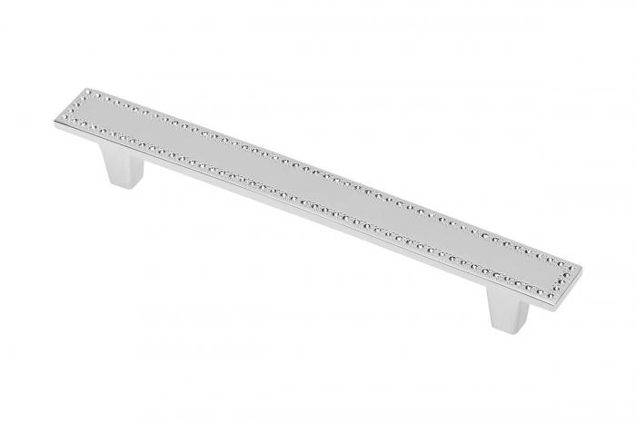 Maner mobila LUCCA 128 mm, cromat [0]