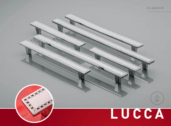 Maner mobila LUCCA 128 mm, cromat [1]