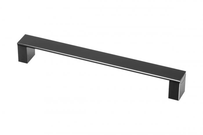 Maner mobila ARES 160 mm, negru mat [0]
