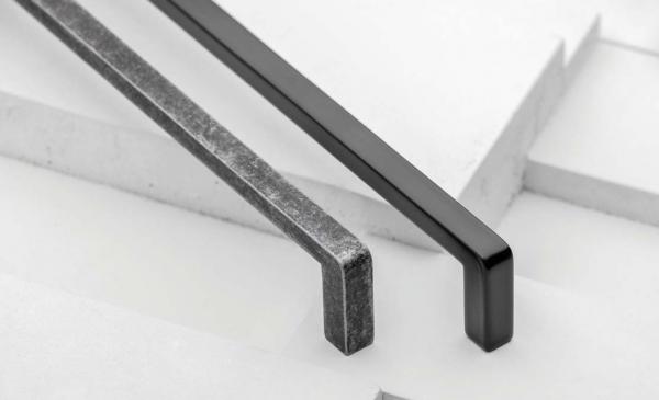 Maner mobila Bagio 128 mm, argintiu antic [2]