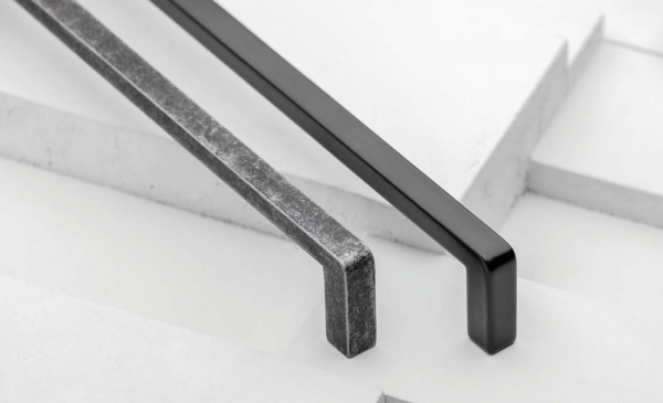 Maner mobila Bagio 128 mm, negru mat 2