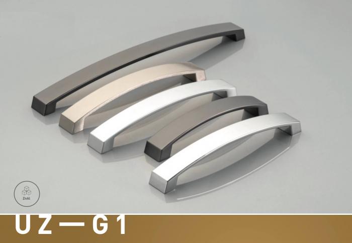 Maner mobila G1 192 mm, negru mat [1]