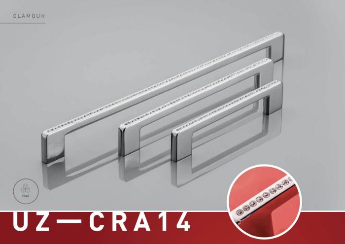 Maner mobila GLAMOUR 192 mm, cromat [1]