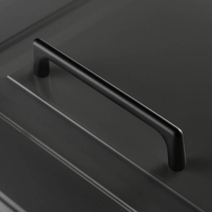 Maner mobila OCTAVIO 192 mm, negru mat [2]