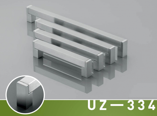 Maner mobila UZ-334 128 mm, otel periat 2