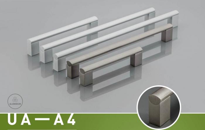 Maner mobila UA-A4 960 mm, otel periat [1]