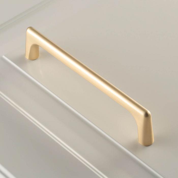 Maner mobila OCTAVIO 160 mm, gold 1