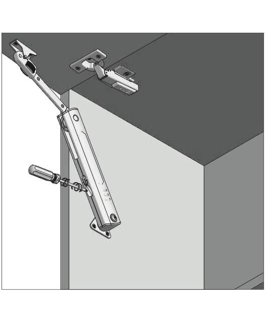 Piston de ridicare MINILIFT Strong 4-6 kg 11