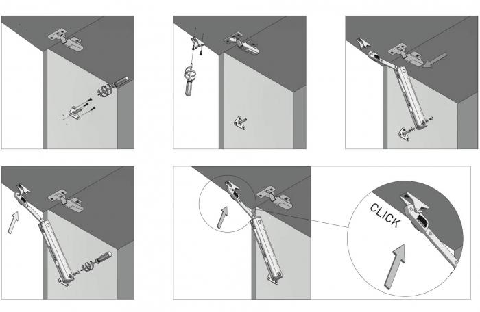 Piston de ridicare MINILIFT Medium 3.5-4.5 kg 9