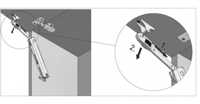 Piston de ridicare MINILIFT Medium 3.5-4.5 kg 10