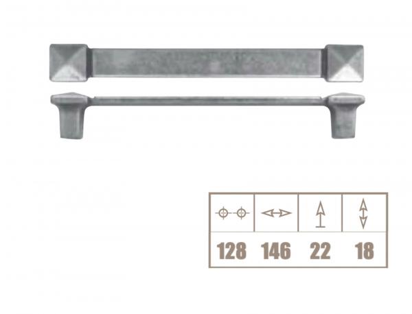 Maner mobila WMN226 128 mm, alama antichizata 1