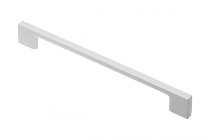 Maner mobila ZAMAK 256 mm, alb mat [0]