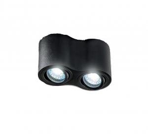 Spot AVEIRO DUO, negru, bec GU10 max. 2x20W0