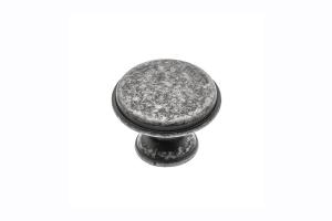 Buton mobila Cento D28 mm, argintiu antichizat0
